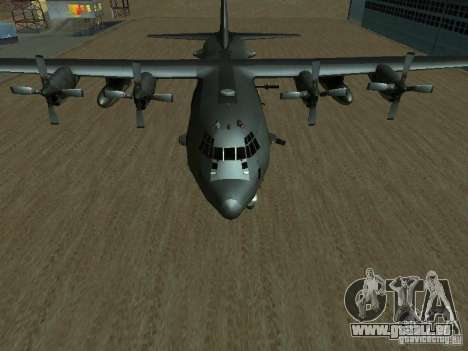 AC-130 Spooky II pour GTA San Andreas vue de droite