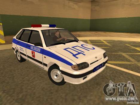 ВАЗ 2114-Polizei für GTA San Andreas