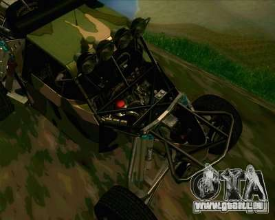 Ickler Jimco Buggy pour GTA San Andreas vue intérieure