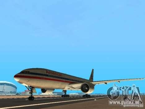 Boeing 777-200 American Airlines für GTA San Andreas