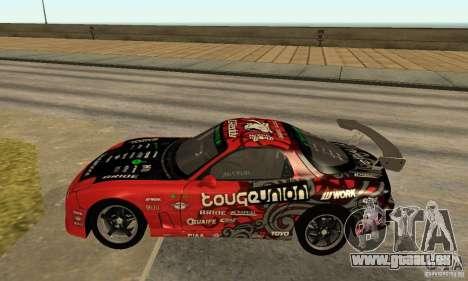 Mazda RX-7 FD3S für GTA San Andreas linke Ansicht