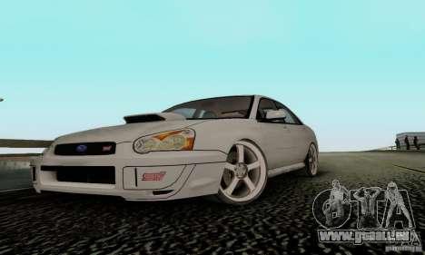 Subaru Impreza WRX STi TUNEABLE pour GTA San Andreas