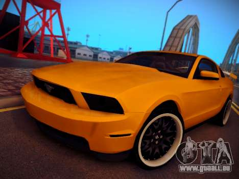 Ford Mustang GT 2010 Tuning pour GTA San Andreas
