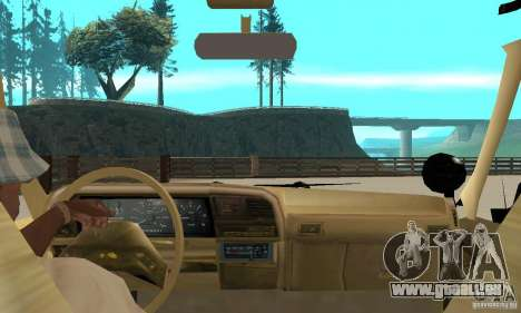 Ford Explorer (Jurassic Park) für GTA San Andreas Rückansicht