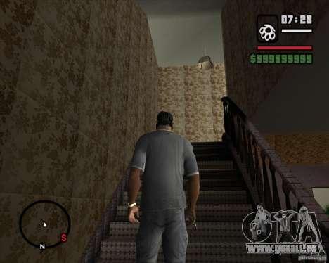 Ersetzen das ganze Haus-CJeâ für GTA San Andreas dritten Screenshot