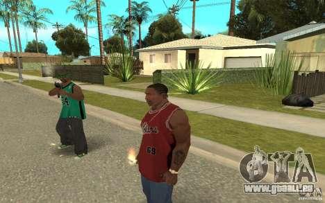 Grove Street Skin Pack pour GTA San Andreas huitième écran