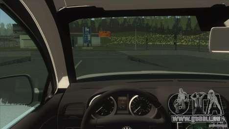 Skoda Octavia Scout pour GTA San Andreas vue arrière