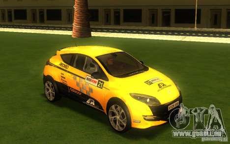 Renault Megane RS pour GTA San Andreas vue de droite
