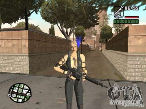 Sonya from Mortal Kombat 9 für GTA San Andreas