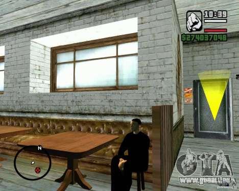 Fähigkeit zu sitzen für GTA San Andreas dritten Screenshot