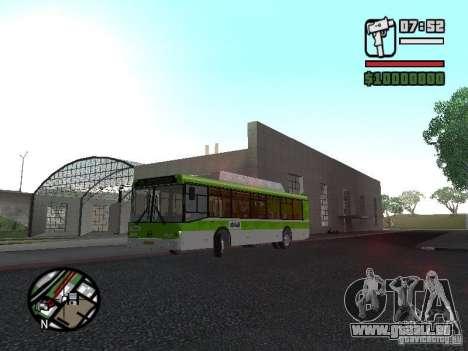 LIAZ 5292.70 pour GTA San Andreas laissé vue