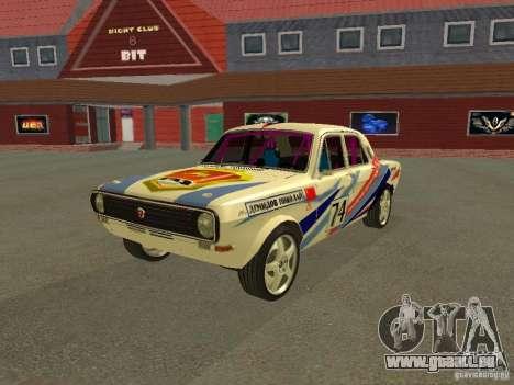 Volga GAZ 24-10 Rallye pour GTA San Andreas