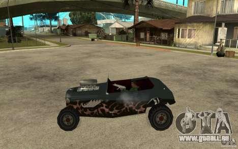 Deuce Brutal Legend pour GTA San Andreas laissé vue
