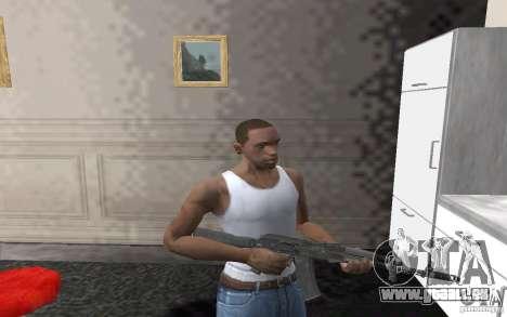 AK-74 m pour GTA San Andreas troisième écran
