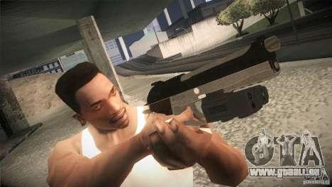 Weapon Pack by GVC Team pour GTA San Andreas cinquième écran