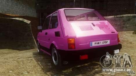 Fiat 126p FL Polski 1994 Wheels 1 für GTA 4 hinten links Ansicht