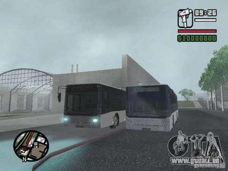 CityLAZ 12 LF pour GTA San Andreas vue de dessous