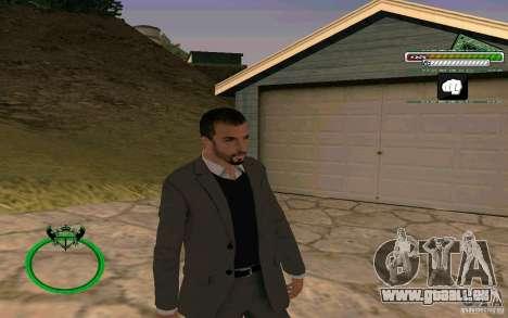 Homme d'affaires de nouvelle peau HD pour GTA San Andreas