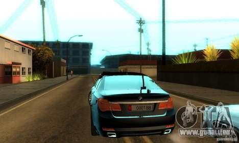 BMW 750Li pour GTA San Andreas vue de côté