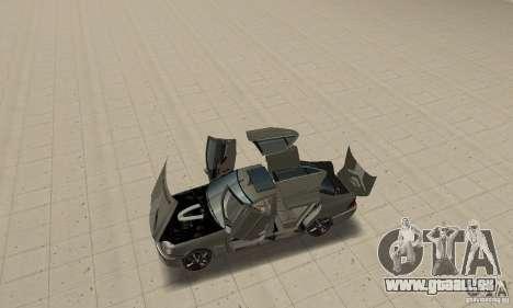 Mercedes Benz AMG S65 DUB pour GTA San Andreas vue arrière