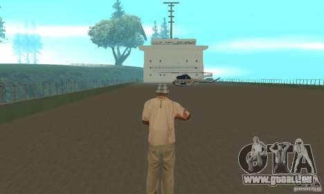The G60 Ferry boat pour GTA San Andreas vue intérieure