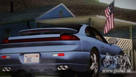 Dodge Stealth RT Twin Turbo 1994 für GTA San Andreas Rückansicht