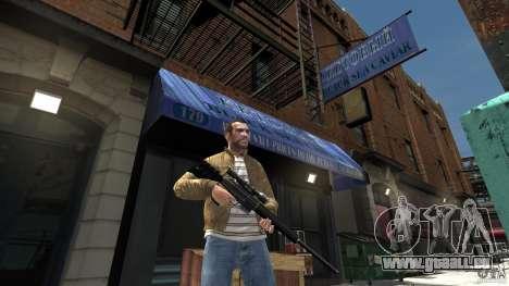 PSG1 (Heckler & Koch) für GTA 4