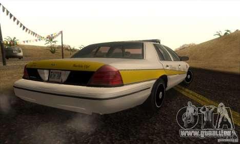 Ford Crown Victoria Illinois Police für GTA San Andreas linke Ansicht