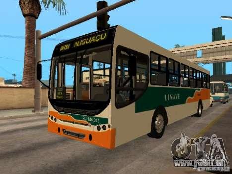 Caio Apache S21 Linave für GTA San Andreas Innenansicht