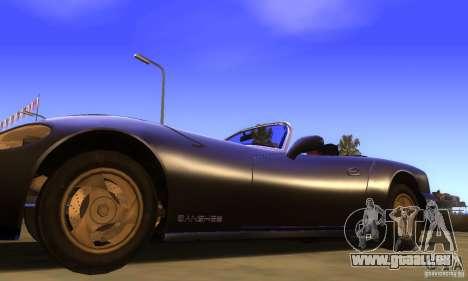 New Banshee [HD] pour GTA San Andreas sur la vue arrière gauche