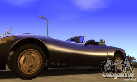New Banshee [HD] für GTA San Andreas zurück linke Ansicht