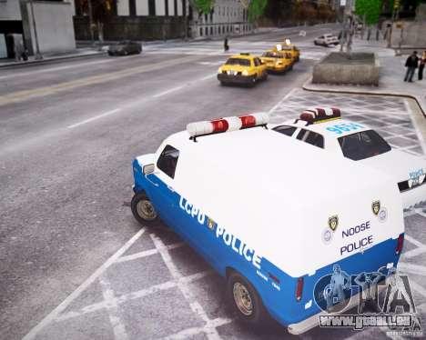 Ford E-150 LCPD pour GTA 4 est un droit