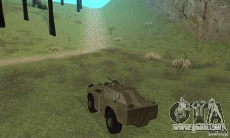 BRDM-1 Skin 2 für GTA San Andreas rechten Ansicht