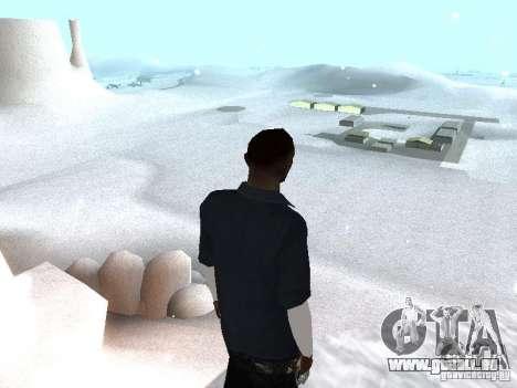 Snow MOD 2012-2013 pour GTA San Andreas deuxième écran