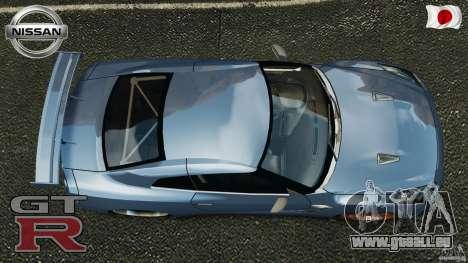 Nissan GT-R 35 rEACT v1.0 pour GTA 4 est un droit