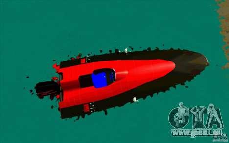 Race Boat für GTA San Andreas rechten Ansicht