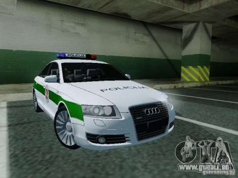 Audi A6 Police pour GTA San Andreas