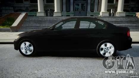 BMW 3-Series Unmarked [ELS] pour GTA 4 est une gauche