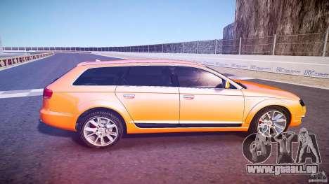 Audi A6 Allroad Quattro 2007 wheel 2 pour GTA 4 est un côté
