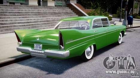 Plymouth Belvedere 1957 v1.0 für GTA 4 obere Ansicht