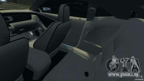 Chevrolet Camaro ZL1 2012 v1.0 Flames pour GTA 4 est une vue de l'intérieur