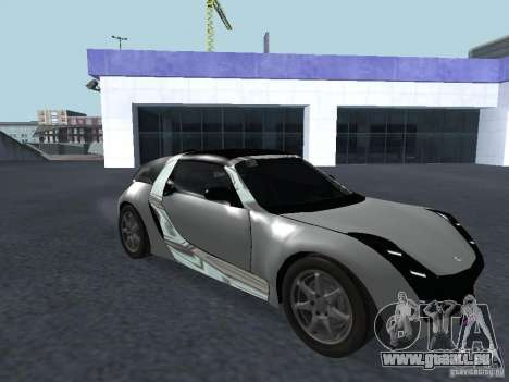 Smart Roadster Coupe für GTA San Andreas linke Ansicht