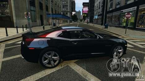 Chevrolet Camaro ZL1 2012 pour GTA 4 est un côté