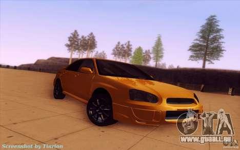 Subaru Impreza WRX STI 2005 für GTA San Andreas