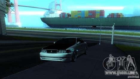 Toyota Mark II 100 für GTA San Andreas rechten Ansicht