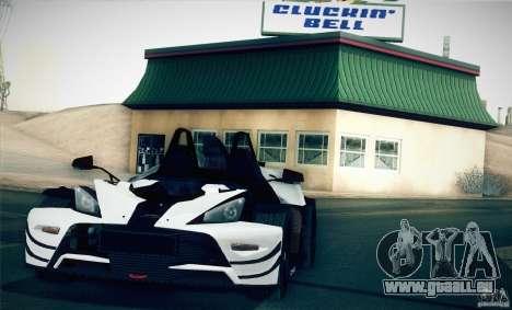 KTM-X-Bow pour GTA San Andreas laissé vue