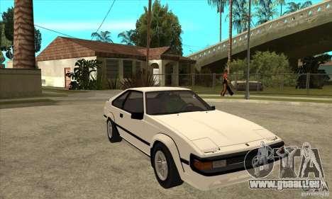 Toyota Celica Supra 1984 pour GTA San Andreas vue arrière