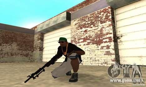 Browning M1919 pour GTA San Andreas troisième écran