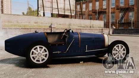 Bugatti Type 51 für GTA 4 linke Ansicht