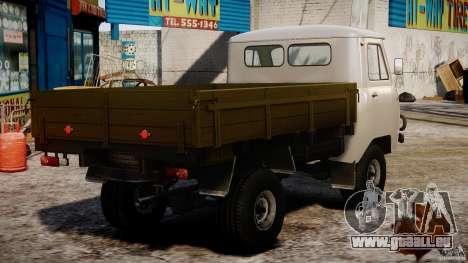 UAZ 451DM pour GTA 4 est une vue de l'intérieur